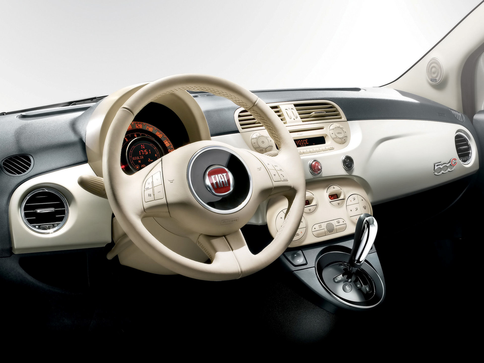 fiat 500c intrieur image 1