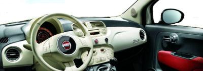 Photo de la nouvelle Fiat 500: intérieur