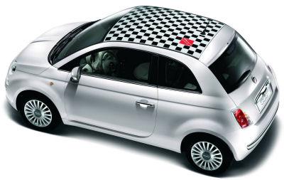 Photo de la nouvelle Fiat 500: Galerie de photos des possibilités de personnalisation du design extérieur de la nouvelle Fiat 500.r